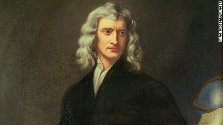 Sir Isaac Newton suspended his college studies in Cambridge as the plague ravaged England.