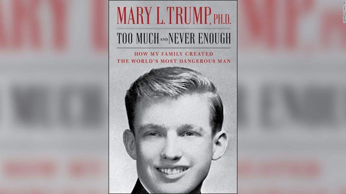 Mary Trump's scathing book claims Trump paid someone to take his SATs - CNN