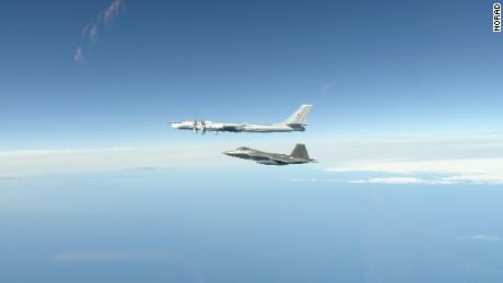 North American Aerospace Defense Command F-22 Raptors, supported by KC-135 Stratotankers and an E-3 Airborne Warning and Control System, successfully completed two intercepts of Russian bomber aircraft formations entering the Alaskan Air Defense Identification Zone June 16.  The first formation of Russian aircraft consisted of two Tu-95 bombers, accompanied by two Su-35 fighter jets and was supported by an A-50 airborne early warning and control aircraft. The second formation consisted of two Tu-95 bombers supported by an A-50. The Russian military aircraft came within 32 nautical miles of Alaskan shores; however, remained in international airspace and at no time did they enter United States sovereign airspace.
