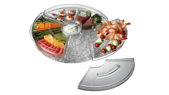 Prodyne Appetizers On Ice with Lids, 16""