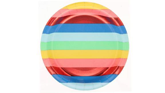 Rainbow Dinner Plate