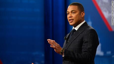 Don Lemon moderated the CNN Democratic Presidential Town Hall with Minnesota Senator Amy Klobuchar at St. Anselm College in Manchester, New Hampshire in February 2020.