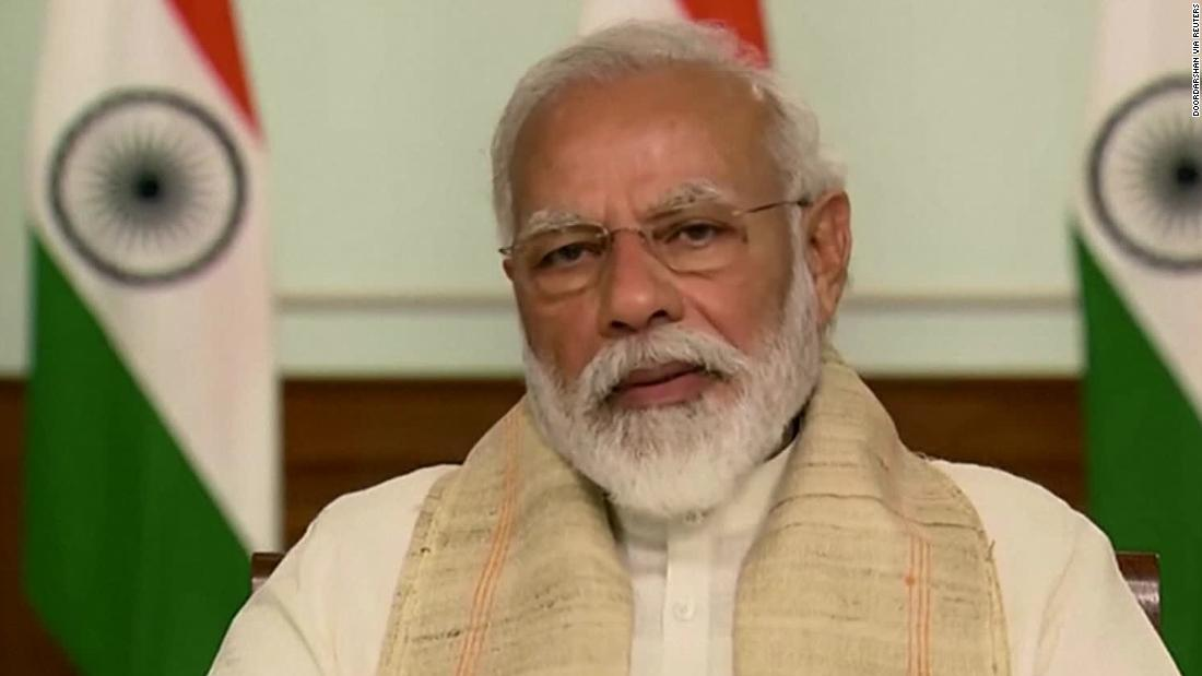 Indian Prime Minister Narendra Modi responds to China after a deadly border clash that killed at least 20 Indian soldiers.