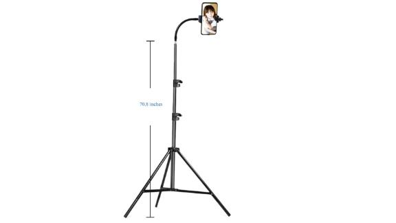 "Cell Phone Tripod, 70"" Adjustable Phone Tripod for Video Recording"
