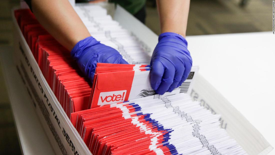 Supreme Court rejects Texas Democrats' request to speed up consideration of vote by mail case