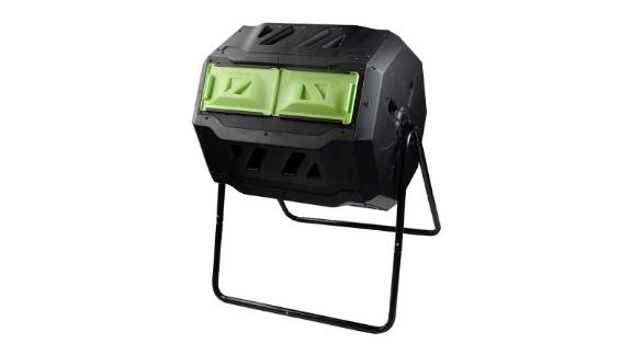 Squeeze Master Large Compost Tumbler Bin