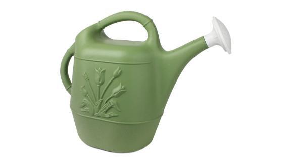 Watering Can with Tulip Design, 2-Gallon