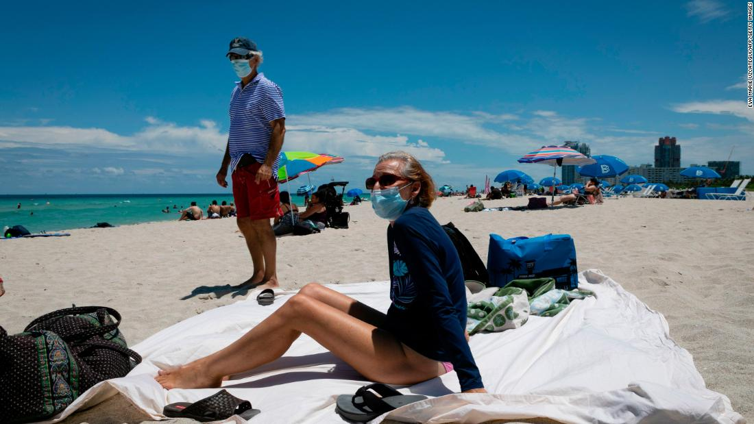 Florida marks coronavirus case record as July Fourth weekend approaches – CNN
