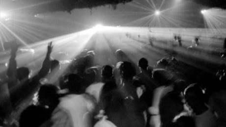 "A rave in 1989, during the UK's ""Second Summer of Love."""