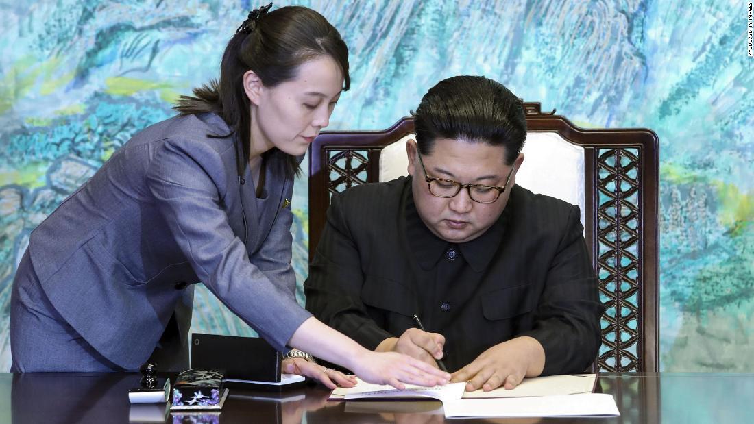 North Korea S Kim Jong Un Delegates Some Powers To Sister Kim Yo Jong South Korean Intelligence Says Cnn
