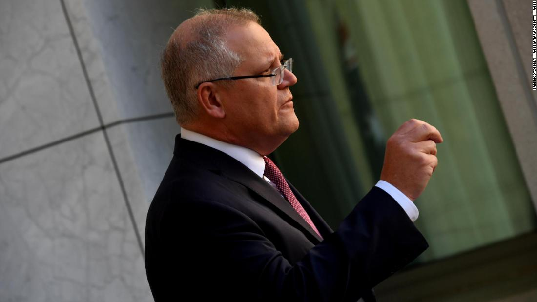 Australia says it is experiencing a 'sophisticated' state-based cyber attack