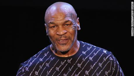 "Mike Tyson performs his one man show ""Undisputed Truth"" in Atlantic City, New Jersey."