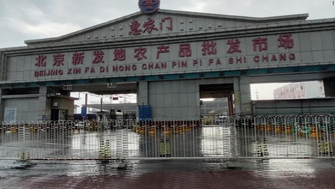 Beijing Xinfadi market