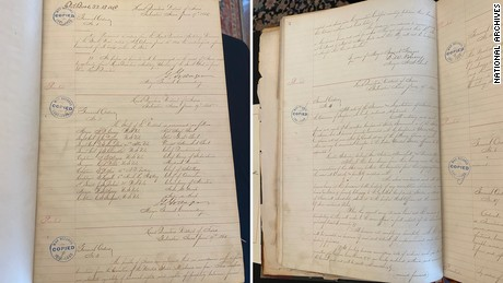 The National Archives has unearthed the handwritten record of the order issued by Union Army Maj. Gen. Gordon Granger on June 19, 1865.