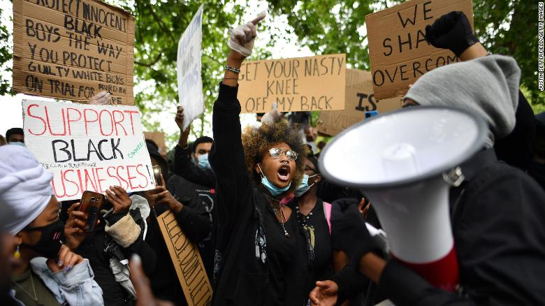 The report was commissoned in the aftermath of BLM protests in Britain last summer and the frustrations that arose out of them.