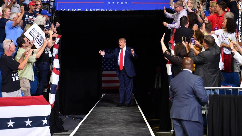 Trump to hold first entirely indoor rally in nearly three months
