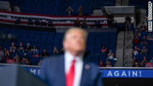 Trump's campaign was trolled by TikTok users in Tulsa