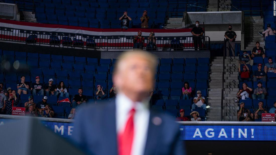 Trump's campaign was trolled by TikTok users in Tulsa thumbnail