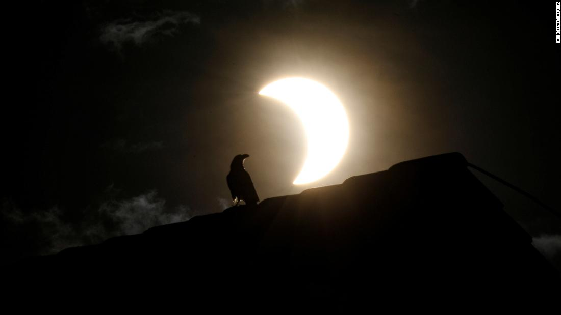 Photos of the June 2020 solar eclipse