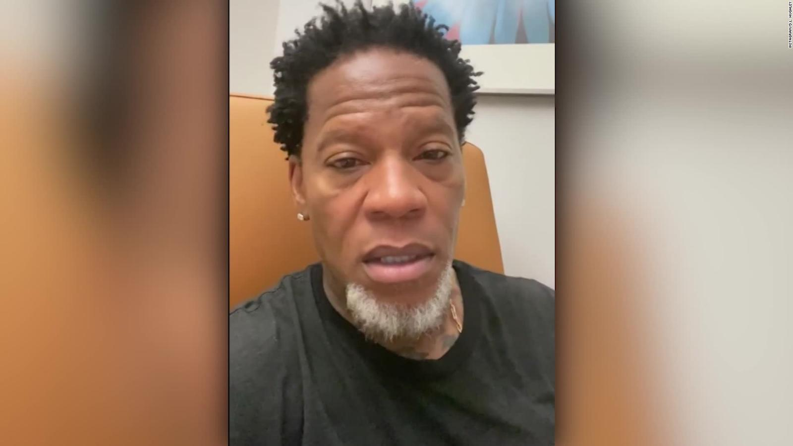 D.L. Hughley tests positive for Covid-19 after collapse - CNN Video