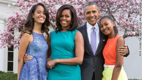 Michelle Obama posts a sweet tribute to her husband for Father's Day
