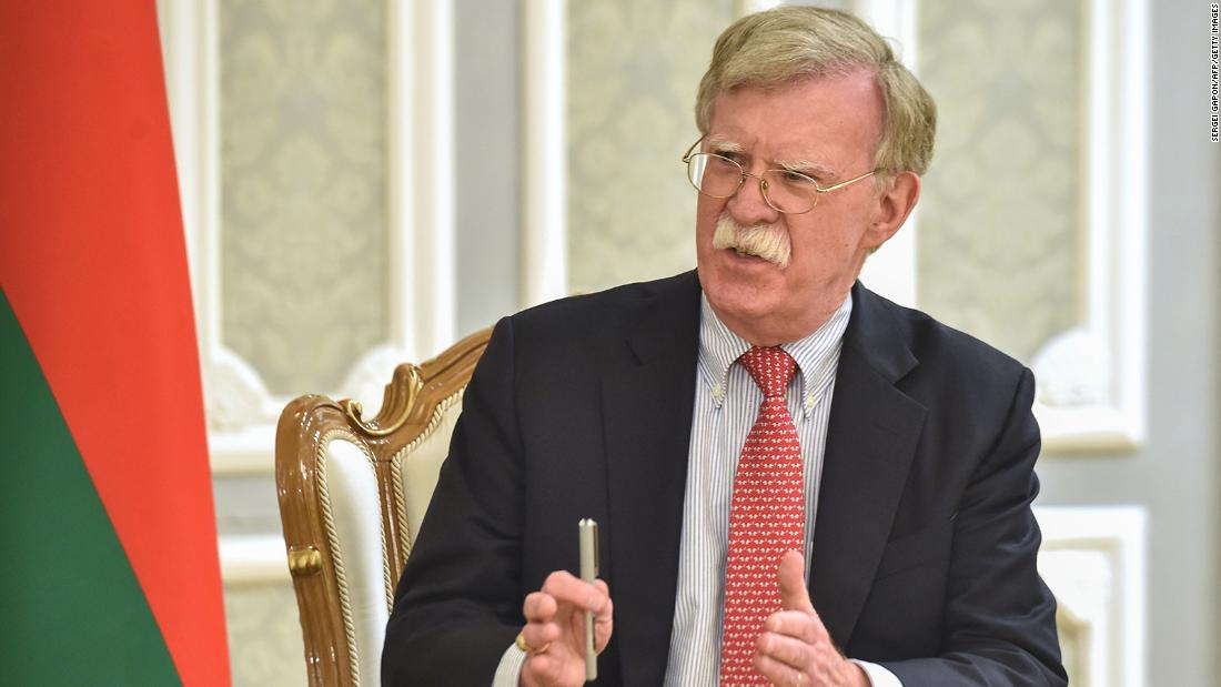 New York Times: Justice Department has opened a criminal investigation into Bolton's book