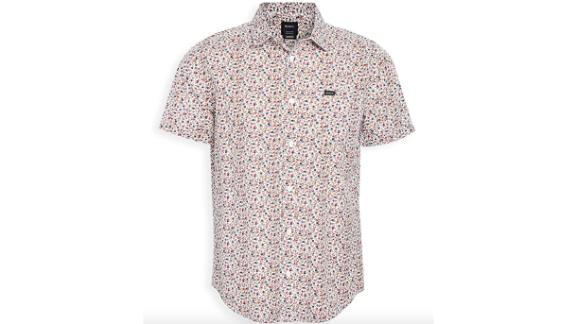 RVCA Men's Bellflower Button-Up Shirt