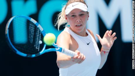 Amanda Anisimova's agent is Max Eisenbud, who was key to developing Maria Sharapova's profile.