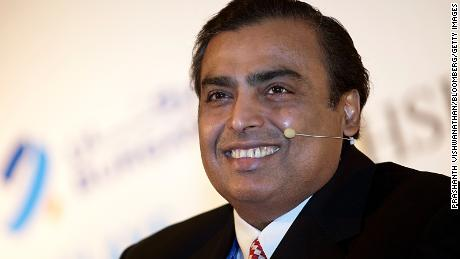 Asia's richest man, Mukesh Ambani, is now among the world's 10 wealthiest people