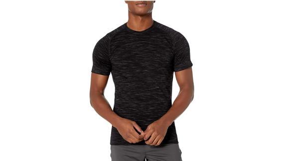Peak Velocity Men's Merino Wool Neck-T Shirt