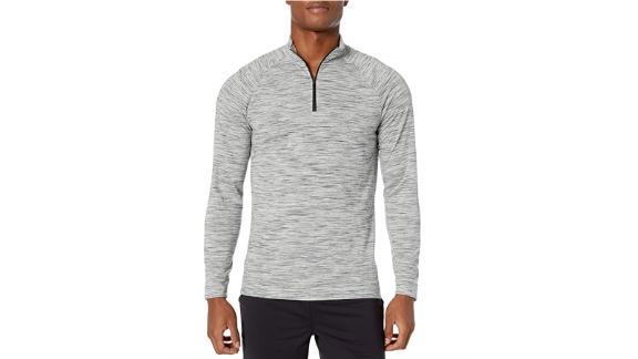 Peak Velocity Mock-Neck Long Sleeve Shirt