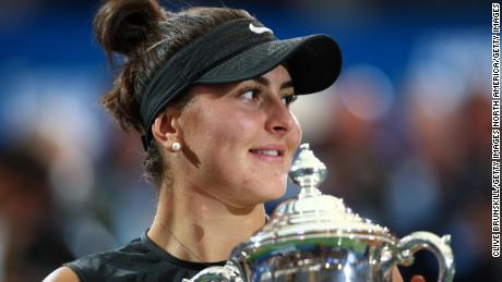 Andreescu is looking forward to defending her US Open title this year.