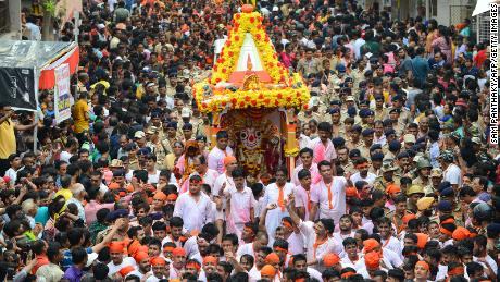 India allows religious festival to go ahead in 'limited' capacity as coronavirus cases surge