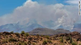 The Bush Fire Is Now The 5th Largest In Arizona S History Cnn