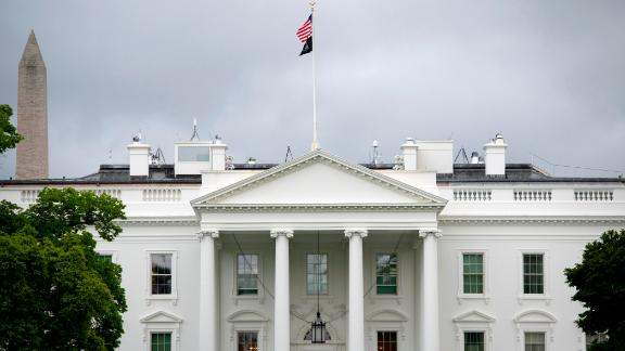 A general view of the White House in Washington, D.C., on April 27, 2020 amid the Coronavirus pandemic. Today, known deaths from COVID-19 surpassed 200,000 globally, while across America some states have begun reopening their economies as the total number of confirmed American cases nears 1 million. (Graeme Sloan/Sipa USA)(Sipa via AP Images)