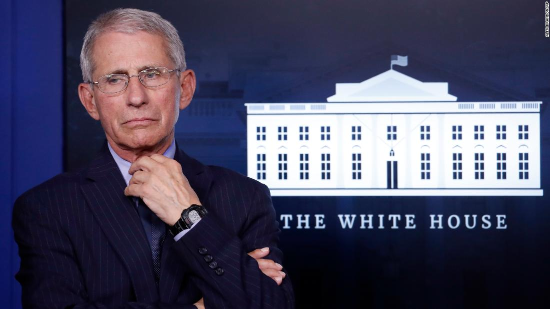 Fauci: 'Rigorous clinical testing' underway for several vaccines