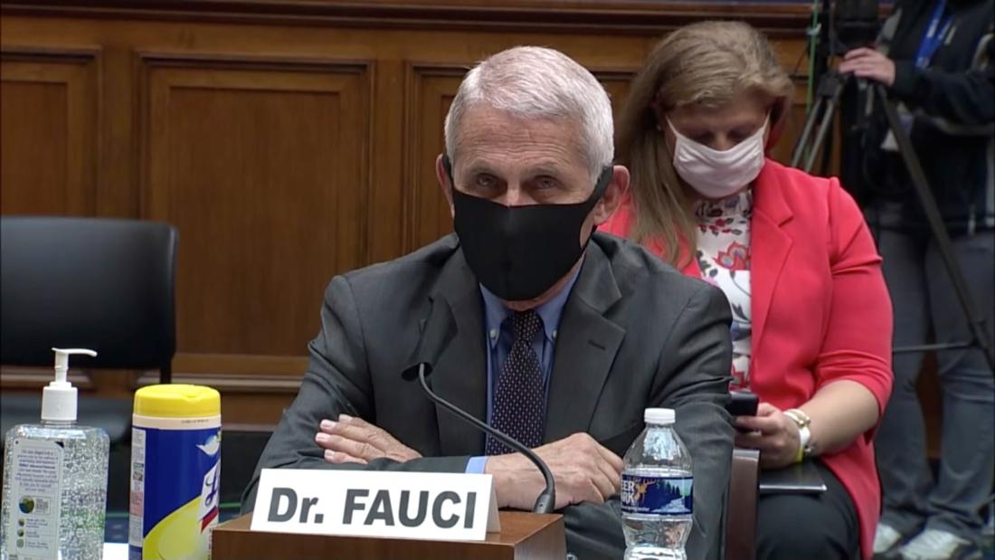 Fauci and Redfield testify on Trump's Covid-19 response