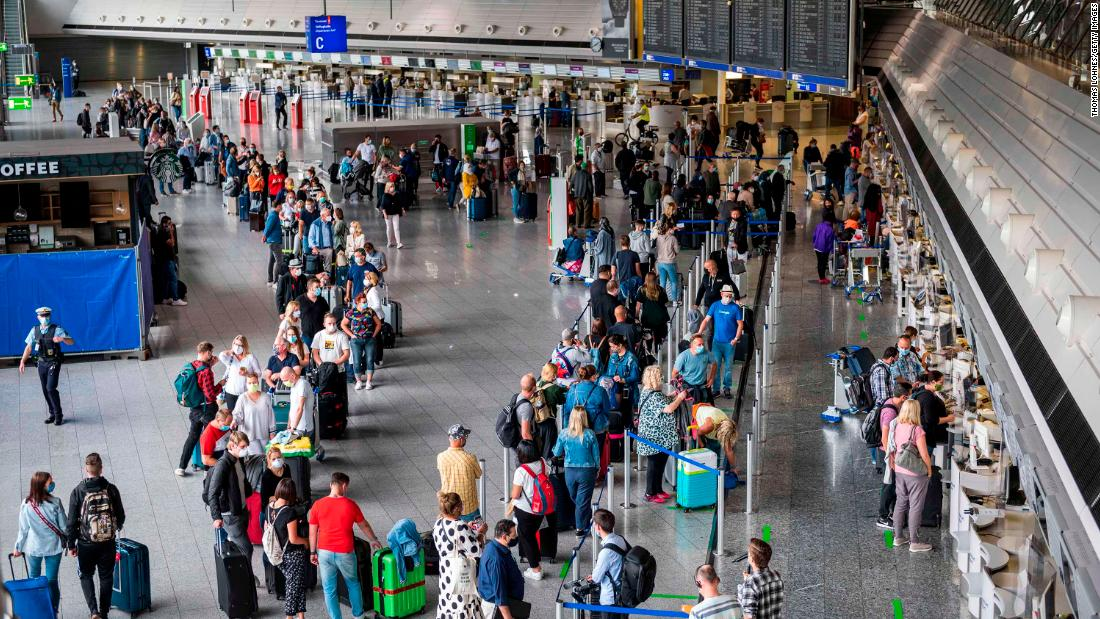 American travelers will be unwelcome inside the EU for the foreseeable future, due to the eyewatering US coronavirus infection numbers.