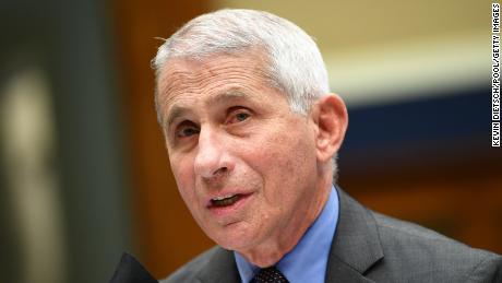 Director of the National Institute for Allergy and Infectious Diseases Dr. Anthony Fauci testifies before the US Senate Health, Education, Labor, and Pensions Committee hearing to examine COVID-19, focusing on lessons learned to prepare for the next pandemic, on Capitol Hill in Washington, DC on June 23, 2020. (Photo by KEVIN DIETSCH / POOL / AFP) (Photo by KEVIN DIETSCH/POOL/AFP via Getty Images)