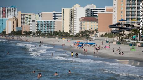 17 high school students test positive after a trip to Myrtle Beach