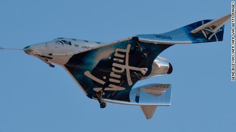 Virgin Galactic به طور غیر منتظره پرواز آزمایشی فضاپیما را قطع می کند