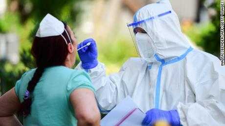 Health authorities in the area are testing anyone who may have been infected.