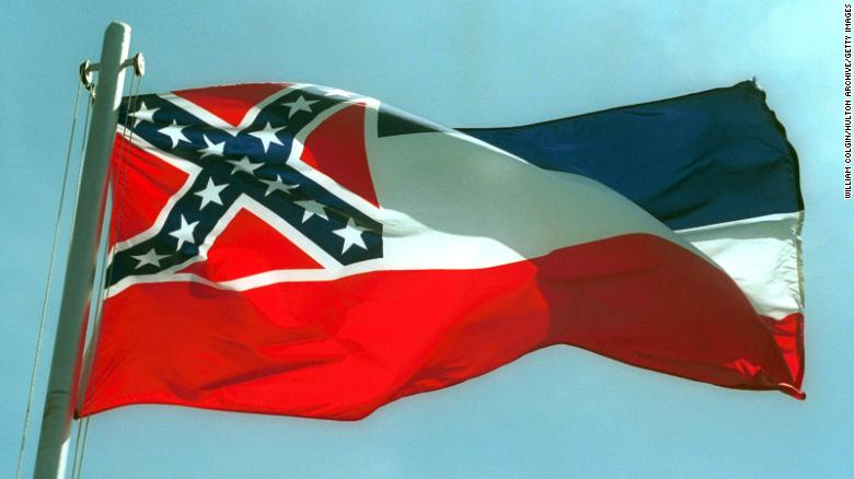 In 2001, Mississippi voted against replacing the state flag, which sports the Confederate emblem. But sentiment is changing.