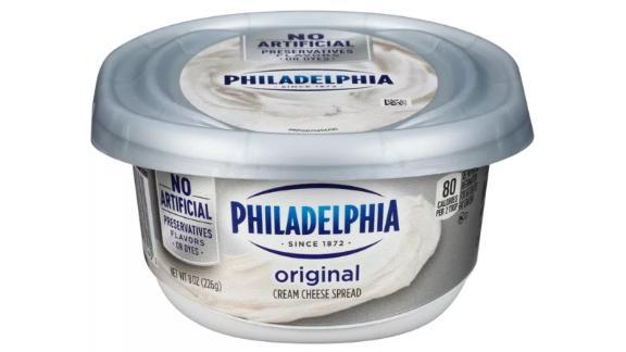 Philadelphia Regular Cream Cheese Tub - 8 ounces