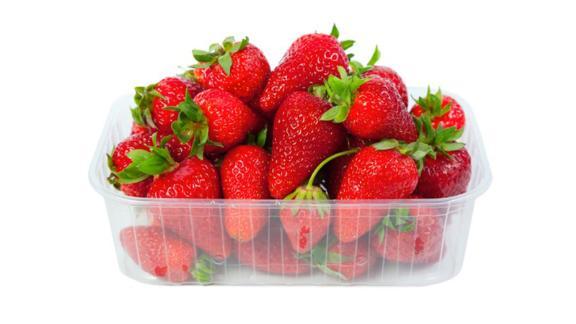 Organic Strawberries - 16 oz