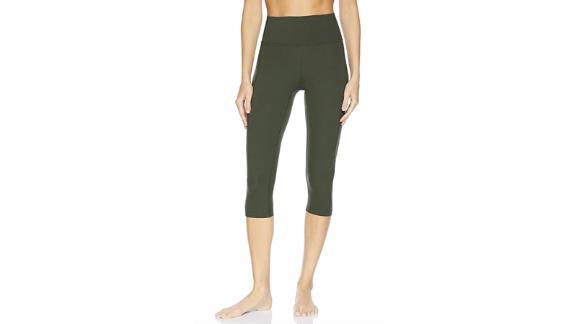 Core 10 Women's (XS-3X) 'Nearly Naked' Lightweight Non-Sheer Yoga High Waist Capri Legging