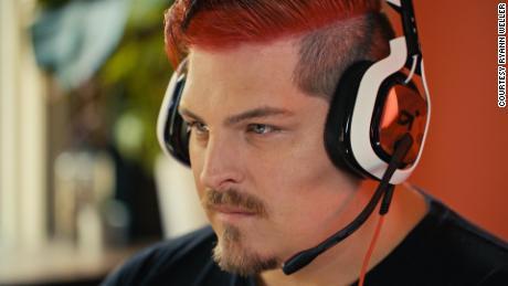 Twitch user Ryann Weller.