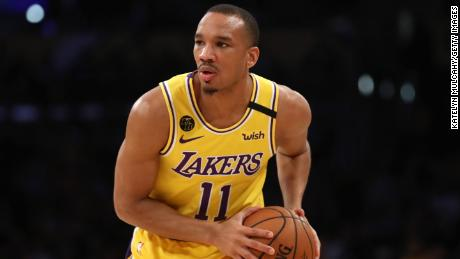 Avery Bradley will not be joining the Lakers when the NBA resumes play in Orlando.
