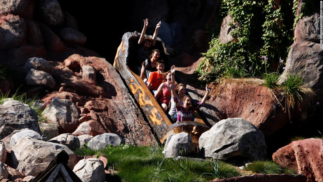 Splash Mountain, a Disney ride based on a controversial film, will be 'completely reimagined' - CNN thumbnail