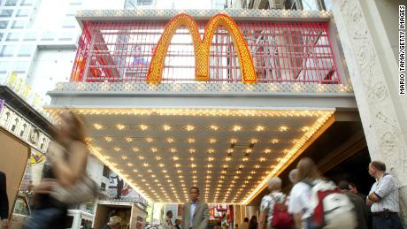 The McDonald's first opened in Times Square in 2002.